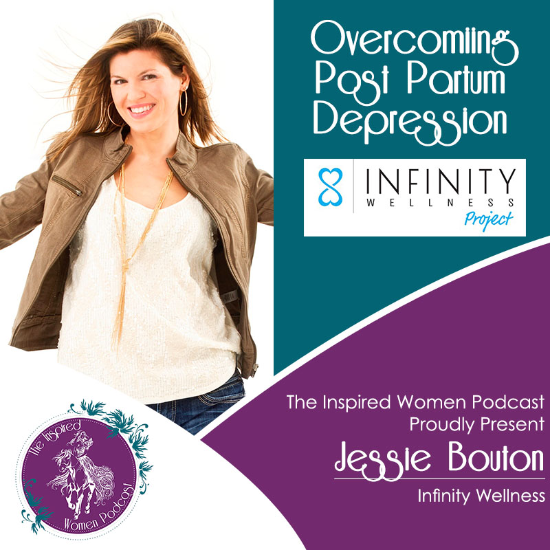 Jessie Bouton. The Inspired Women Podcast