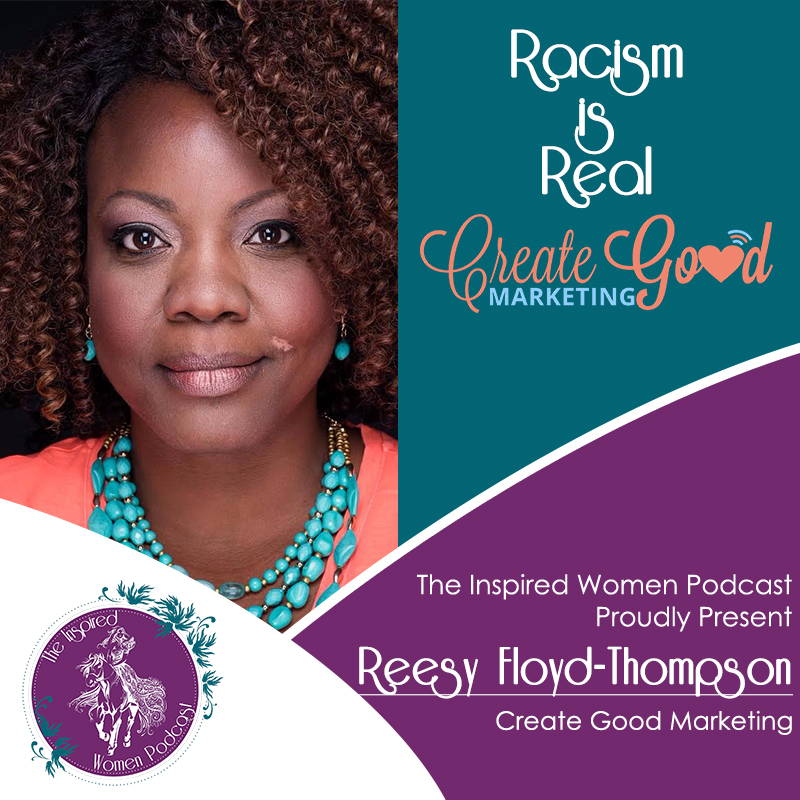 Reesy Floyd-Thompson, Megan Hall, The Inspired Women Podcast