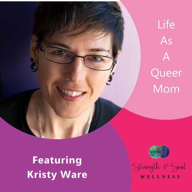 Kristy Ware, Megan Hall, Life as a queer mom, The Inspired Women Podcast