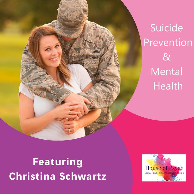 Christina Schwartz , Suicide Prevention, Mental Health, The Inspired Women Podcast, Megan Hall