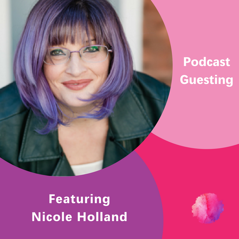 The Inspired Women Podcast, Nicole Holland, Podcast Guesting