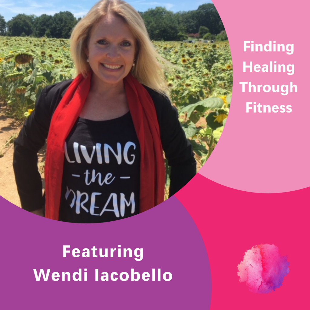 The Inspired Women Podcast, Wendi Iacobello, Healing through fitness
