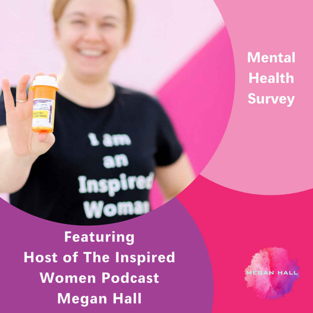 Mental Health Survey, The Inspired Women Podcast, Megan Hall