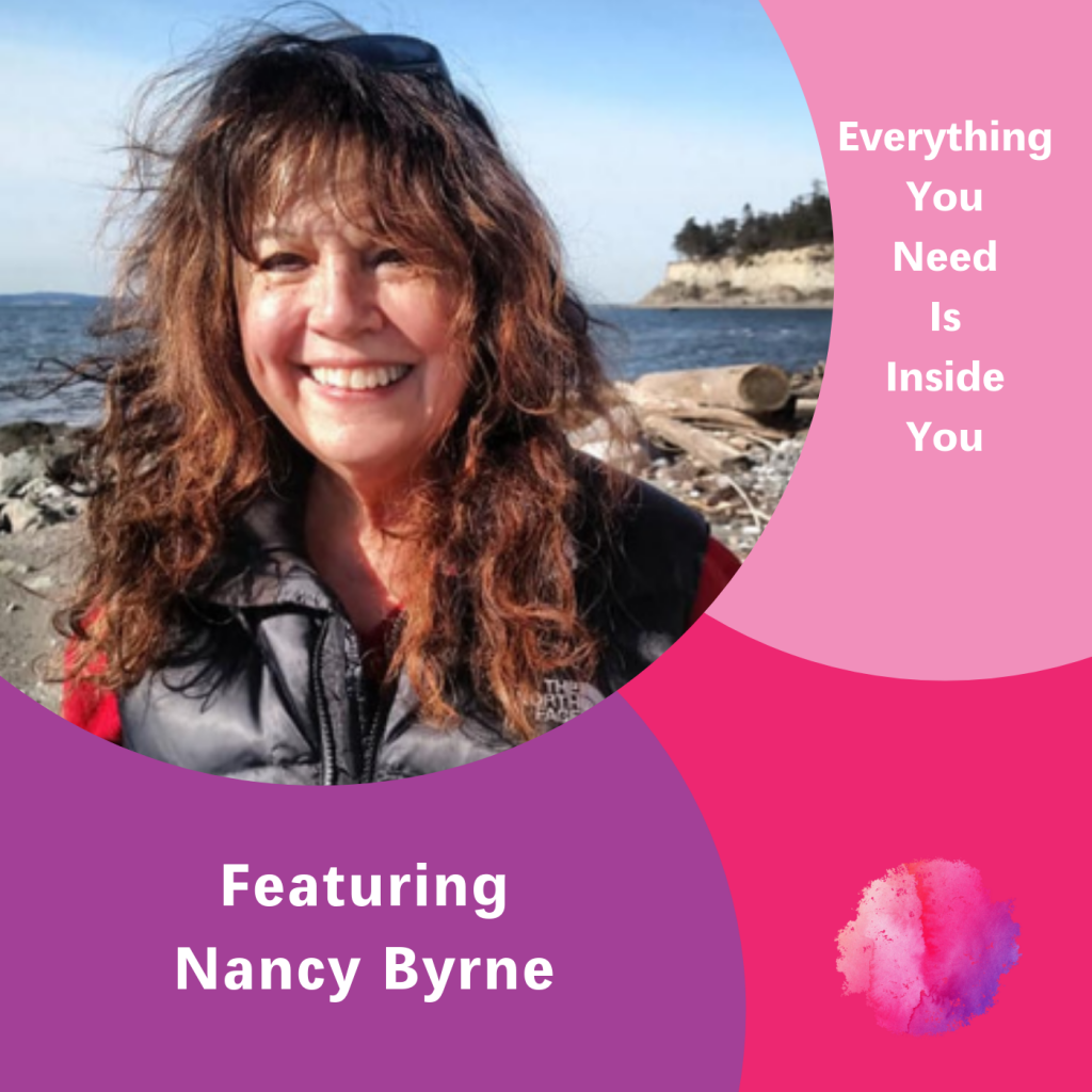 Nancy Byrne, Everything you need is inside you, The Inspired Women Podcast