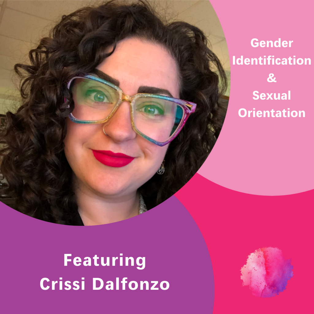 Crissi Dalfonzo, The Inspired Women Podcast, Gender Identification & Sexual Orientation